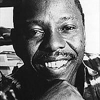 Ken Saro-Wiwa, one of the nine executed Ogonia activists